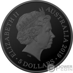 TASMANIAN TIGER Echoes Fauna 1 Oz Silver Coin 5$ Australia 2019