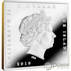 SUNFLOWERS Vincent Van Gogh 1 Oz Silver Coin 1$ Niue 2019