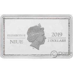 CHANDRA Magic the Gathering 1 Oz Silber Münze 2$ Niue 2019