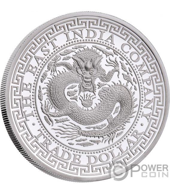CHINESE Trade Dollar 1 Oz Silver Coin 1$ Niue 2019