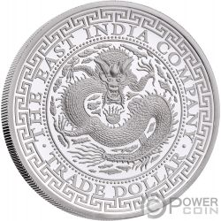 CHINESE Trade Dollar 1 Oz Silver Coin 1$ Niue 2019