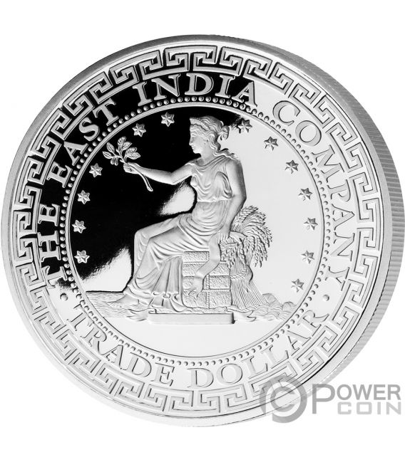 US Trade Dollar 1 Oz Silver Coin 1$ Niue 2019