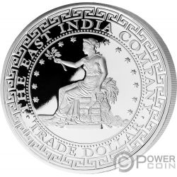 US Estados Unidos Trade Dollar 1 Oz Moneda Plata 1$ Niue 2019