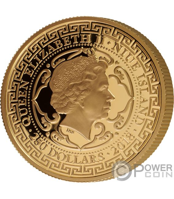 US Trade Dollar 1 Oz Gold Coin 250$ Niue 2019