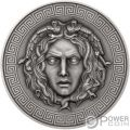 MEDUSA Diamonds 3 Oz Moneta Argento 3000 Franchi Cameroon 2019