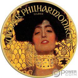 JUDITH Gustav Klimt 1 Oz Silber Münze 1.5€ Austria 2019