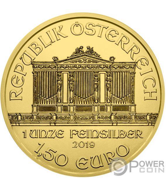 JUDITH Gustav Klimt 1 Oz Silver Coin 1.5€ Austria 2019