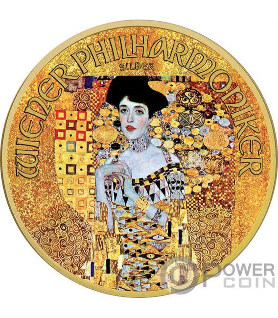 ADELE 100th Anniversary Gustav Klimt 1 Oz Silver Coin 1.5€ Austria 2018
