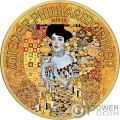 ADELE 100 Anniversario Gustav Klimt 1 Oz Moneta Argento 1.5€ Austria 2018