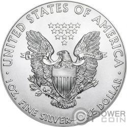 SCREAM Munch Walking Liberty 1 Oz Silver Coin 1$ US Mint 2019