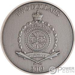 ALI BABA FORTY THIEVES Vierzig Diebe Legendary Tales 1 Oz Silber Münze 2$ Niue 2019