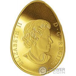 ETERNAL BLESSING PYSANKA Eiform Kunst Gold Münze 250$ Canada 2019