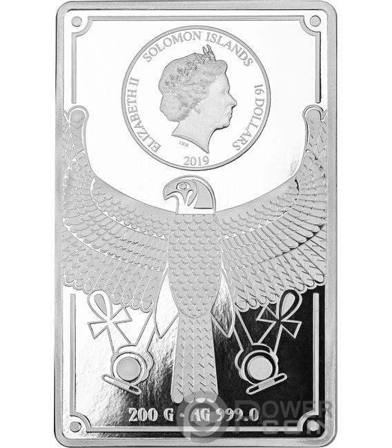 CLEOPATRA Masterpieces Silver Gold Coin 16$ 50$ Solomon Islands 2019