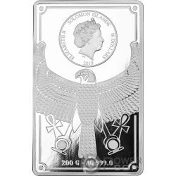 CLEOPATRA Masterpieces Moneta Argento Oro 16$ 50$ Solomon Islands 2019