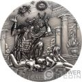 ATLAS Titans Titanen 3 Oz Silber Münze 20$ Cook Islands 2019