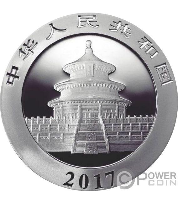 BIG BANG PANDA Colorized Silver Coin 10 Yuan China 2017