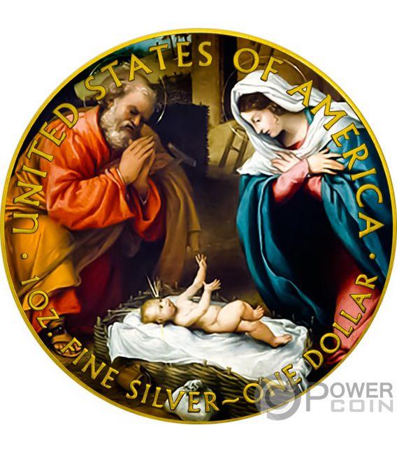 JESUS CHRIST Walking Liberty 1 Oz Silver Coin 1$ USA 2018