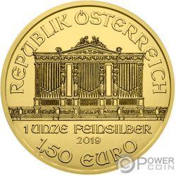 MEDICINE Густав Климт 1 Oz Серебренная Монета 1.5€ Австрия 2019