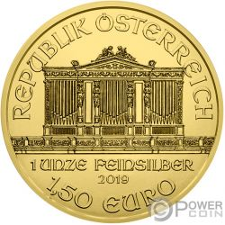 MEDICINE Gustav Klimt 1 Oz Silber Münze 1.5€ Austria 2019