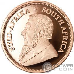 BIG FIVE Со слоном Krugerrand Набор 2x1 Oz Монета Золото 6 Ренд Южная Африка 2019