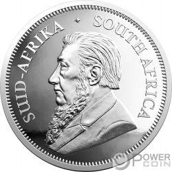 BIG FIVE Слон Krugerrand Набор 2x1 Oz Монета Серебро 6 Ренд Южная Африка 2019