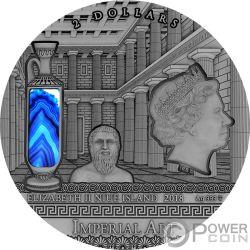 GREECE Imperial Art 2 Oz Серебро Монета 2$ Ниуэ 2018