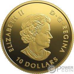 QUEEN VICTORIA 200 Aniversario Moneda Oro 10$ Canada 2019