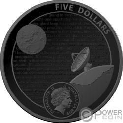 MOON LANDING 50 Aniversario Dome 1 Oz Moneda Argento 5$ Australia 2019