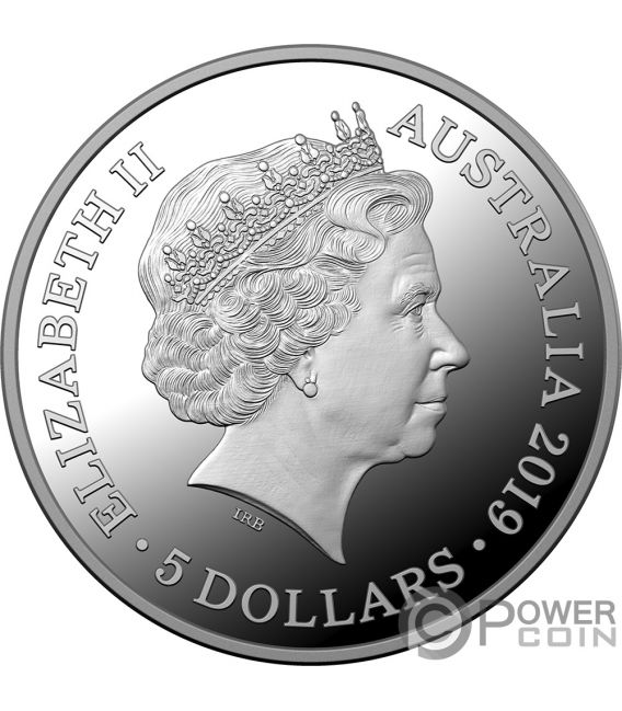 TREATY VERSAILLES 100th Anniversary 1 Oz Silver Coin 5$ Australia 2019