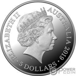 TREATY VERSAILLES Trattato 100 Anniversario 1 Oz Moneta Argento 5$ Australia 2019