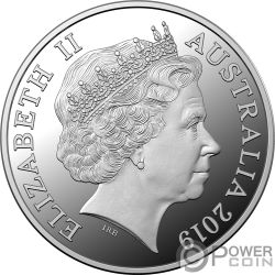 MUTINY ON THE BOUNTY 1 Oz Silver Coin 5$ Australia 2019