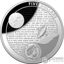 MOON LANDING 50 Aniversario Dome Set 2 Monedas Plata 5$ Australia USA 2019