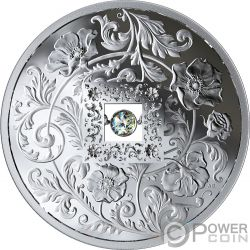 SPARKLE OF THE HEART Corazon Diamante Moneda Plata 20$ Canada 2019