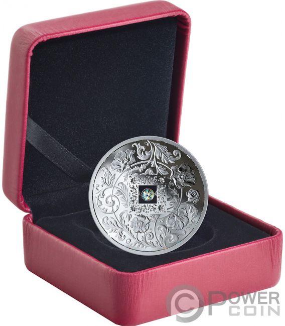 SPARKLE OF THE HEART Diamond Silver Coin 20$ Canada 2019
