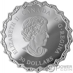 ST LAWRENCE SEAWAY 60 Юбилей 2 Oz серебро монета 30$ Канада 2019