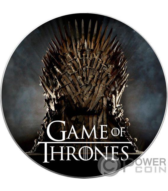 TARGARYEN Fire Coming Game of Thrones GOT Walking Liberty 1 Oz Silver Coin 1$ USA 2019