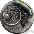 ALIEN 40 Jahrestag 2 Oz Silber Münze 2$ Tuvalu 2019