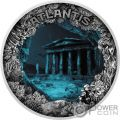 ATLANTIS Sunken City Dome 2 Oz Silver Coin 5$ Niue 2019