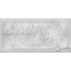 MAGIC Colours of Mana Set Foil Silver Note 1$ Niue 2019