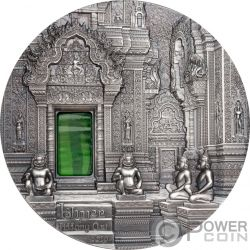 TIFFANY ART Khmer Angkor 2 Oz Moneta Argento 10$ Palau 2019