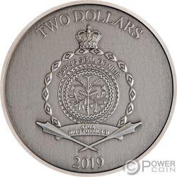 SINBAD SAILOR Marinero Legendary Tales 1 Oz Moneda Plata 2$ Niue 2019