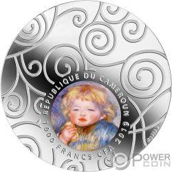 MATERNITY IN ART Mutterschaft 1 Oz Silber Münze 1000 Franken Cameroon 2019