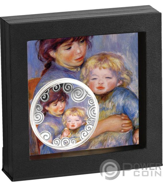 MATERNITY IN ART 1 Oz Silver Coin 1000 Francs Cameroon 2019