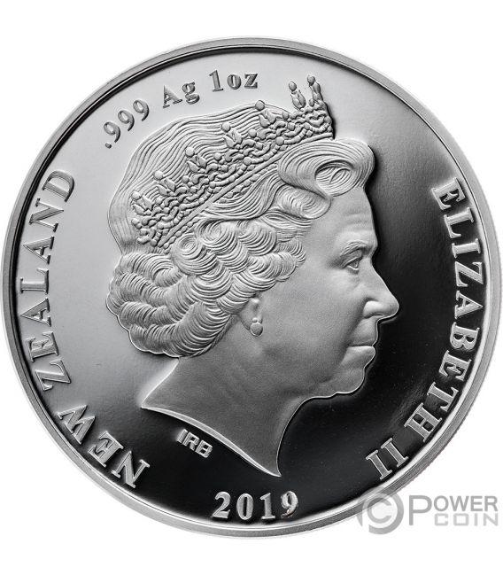 KUPE Great Navigator Octopus Tekau Tara Set 2x1 Oz Silver Coins 1$ New Zealand 2019