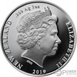 KUPE Great Navigator Piovra Tekau Tara Set 2x1 Oz Monete Argento 1$ New Zealand 2019