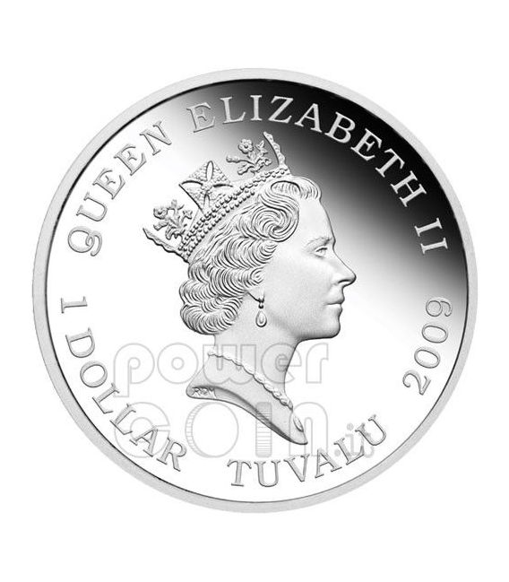 TRANSFORMERS MEGATRON Hasbro Silber Münze 1$ Tuvalu 2009
