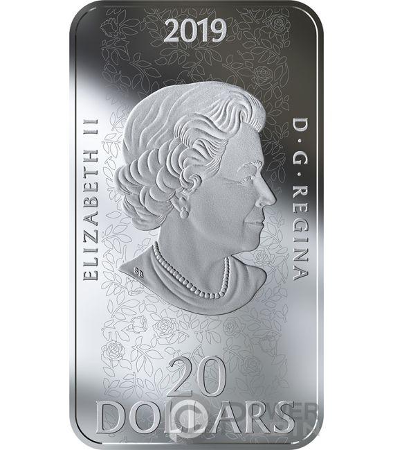 SLEEPING BEAUTY Ballet 1 Oz Silver Coin 20$ Canada 2019