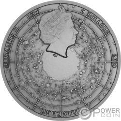 BIG BANG Вселенная Купол 2 Oz Монета Серебро Ниуэ 2019