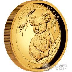AUSTRALIAN KOALA 1 Oz Moneda Oro 100$ Australia 2019