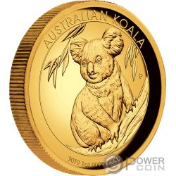 AUSTRALIAN KOALA 1 Oz Moneta Oro 100$ Australia 2019